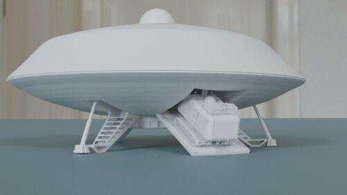 Lost In Space Jupiter 2 Spaceship w/ ramp and Chariot 3D Printed Lunar Moebius