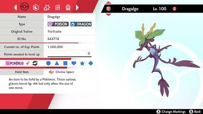 ✨6IV Shiny Dragalge✨ - Isle of Armor - Pokemon Sword and Shield