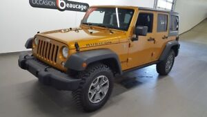 2014 Jeep Wrangler Unlimited Rubicon cuir, navigation, toit soup