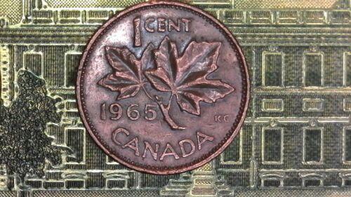 1965 CANADA SMALL CENT