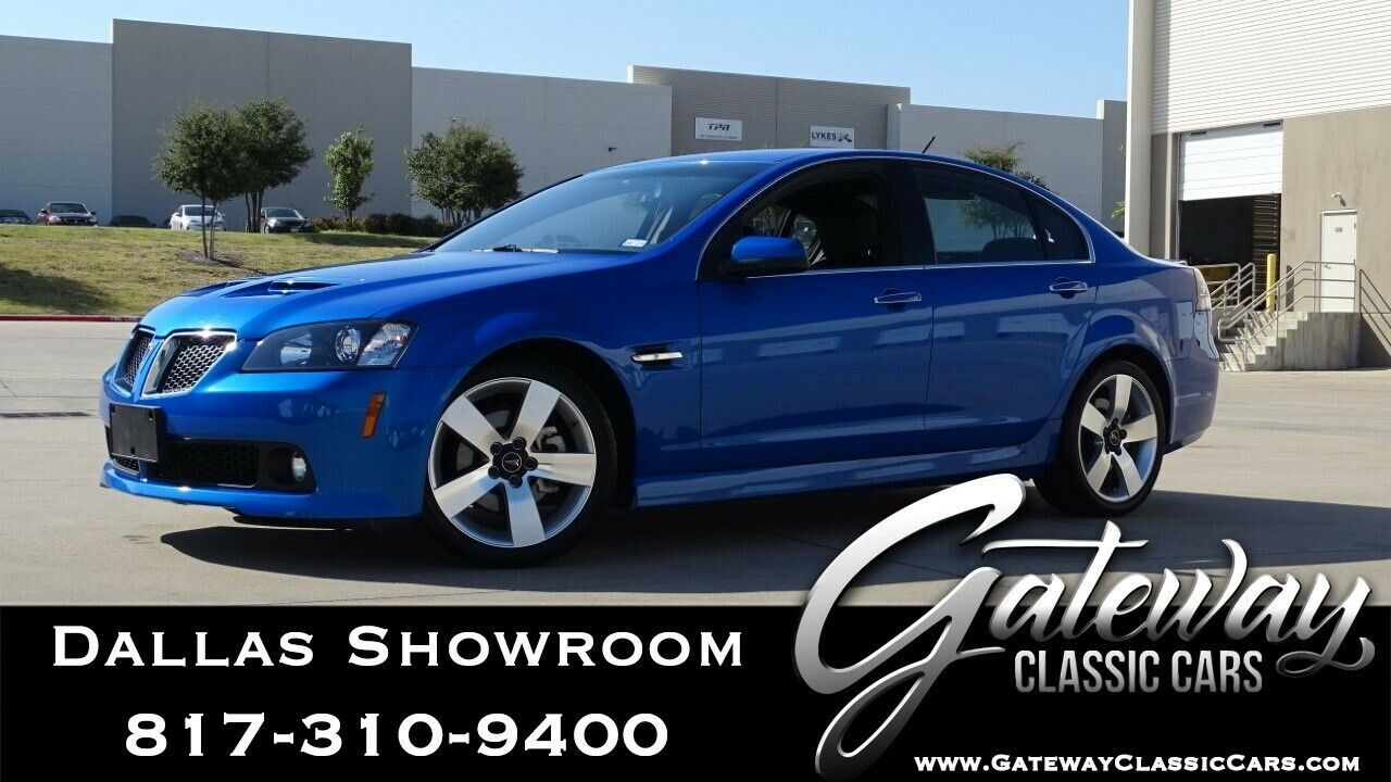 Blue 2009 Pontiac G8  LS2 6.0L V8 6 Speed Automatic Available Now!
