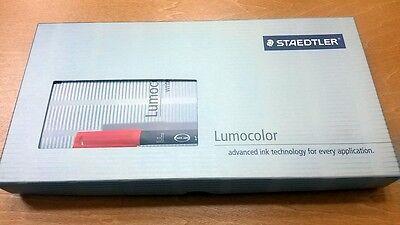 Marker Black Staedtler Lumocolor Set 1 Permanent M Black + 1 Whiteboard NIB (Staedtler Black Markers)
