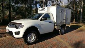 2012 Mitsubishi Triton Turbo Diesel Ute Refrigerated - Chiller Forest Lake Brisbane South West Preview