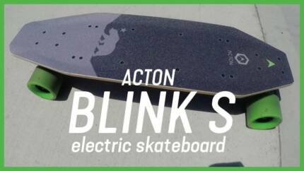 New Acton Blink S2 Electric Skateboard with 2 chargers+1 packbag