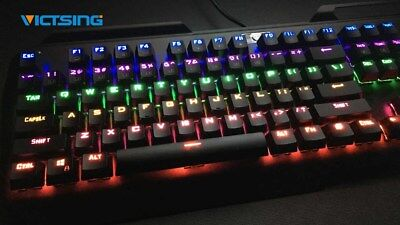 nEW VicTsing RGB Backlit Wired Gaming Keyboard, Spill-Resistant for PC / Laptop