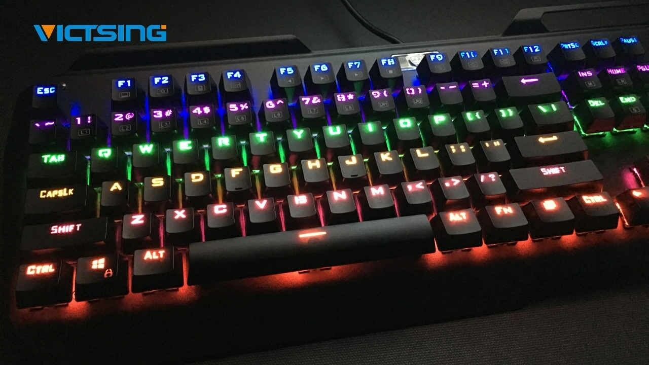 nEW VicTsing RGB Backlit Wired Gaming Keyboard, Spill-Resist