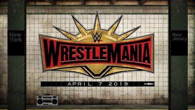 Two WWE WrestleMania 35 floor tickets.