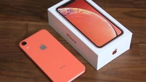 iPhone XR - Coral - 64GB, mint condition with accessories