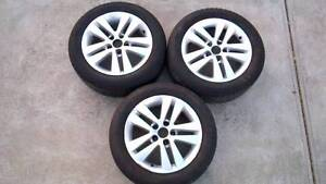 3 Holden Astra AH Wheels 16'' with Goodyear Assurance Tyres Moonee Ponds Moonee Valley Preview