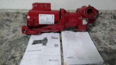 Bell Gossett E608s 12 Hp 1750 Rpm 115208-230v Hot Water Circulating Pump C