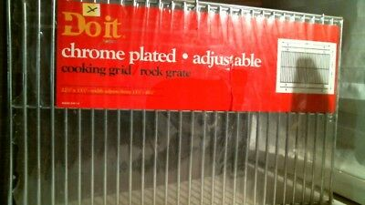 (DoitBest 800295 Chrome Plated Adjustable 22-1/4