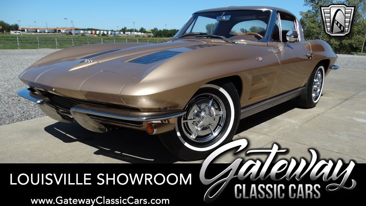 Gold 1963 Chevrolet Corvette Coupe 327 CID V8 2 Speed Powerglide Available Now!