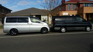 Nissan Elgrand 2004  Double sunroof  with 12 Months Rego and RWC Clyde Casey Area Preview