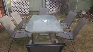 6 Seater Outdoor Setting Semaphore Park Charles Sturt Area Preview