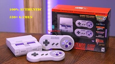 Wonderful Nintendo Classic Edition Console SNES Mini MODDED 530+ Games! NES, SNES!!
