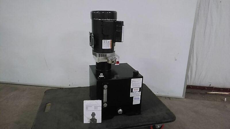 Monarch M-4505-0149 2 HP 1800 RPM 115/230V 5 Gal Reservoir Hydraulic Power Unit