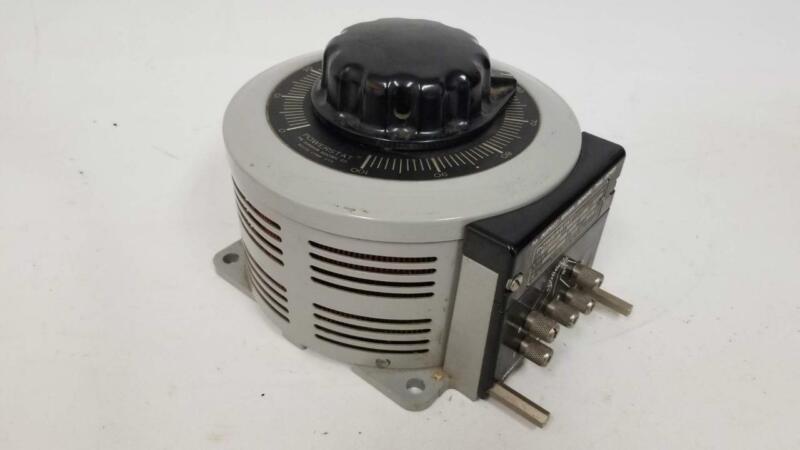Powerstat Variable Autotransformer Variac 136 120V