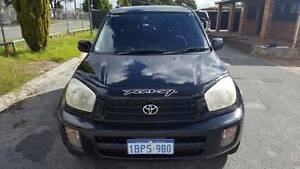 2002 TOYOTA RAV4 CRUISER (4x4) 4D WAGON 2.0L 5 SP AUTOMATIC Beckenham Gosnells Area Preview