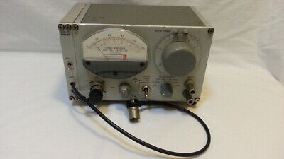 Tuned Amplifier And Null Detector Type 1232-a 1232-p2 Pre-amp As Is