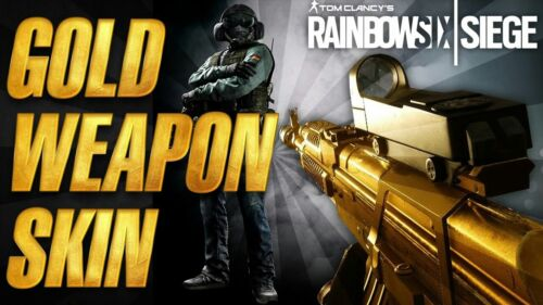 Rainbow Six Siege Gold Weapons Skin Pack Day One DLC for Xbox One XB1
