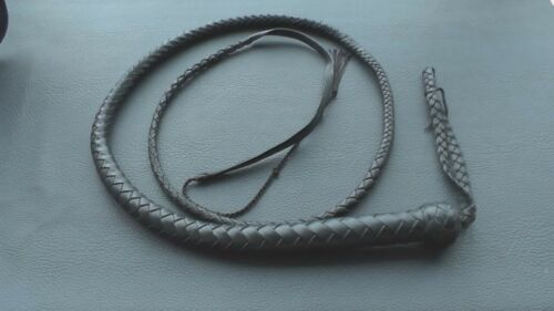 Russian Cossack Whip Horsewhip Nagayka Genuine Leather 2m Handmade