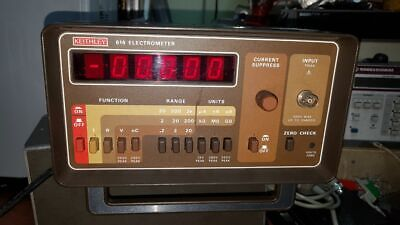 Keithley 614 Electrometer With 2 Meter Triax Cable