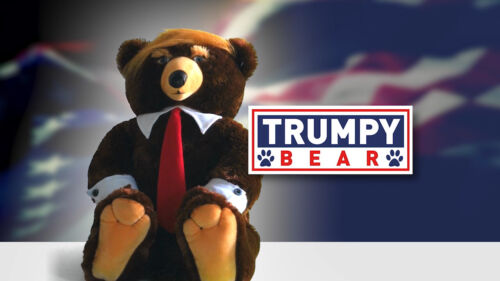 Trumpy Bear- Original as seen on TV Ships from Dallas NOT China