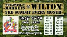 Wollondilly Markets at Wilton - Sunday 17th July, 2016 Wilton Wollondilly Area Preview