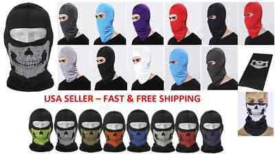 FULL FACE MASK HAT BIKE Mask Motorcycle Cycling Skateboard Ski Hiking Costume