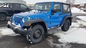2015 Jeep Wrangler Sport COMES EQUIPPED WITH LT WHEELS ON MAGS A