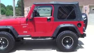 Wanted:  Red Jeep Tj