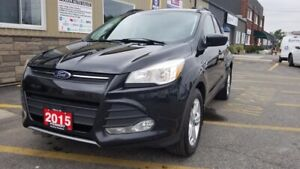 2015 Ford Escape SE-4WD-LEATHER-SUNROOF-REVERSE CAMERA