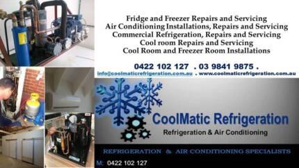 Coolmatic Refrigeration Pty Ltd / Fridge Repairs Melbourne