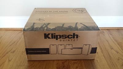 Klipsch Quintet V 5.0 Channel Home Theater System - Black