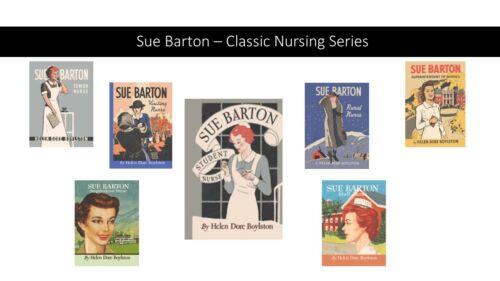 Sue Barton 7 Book Series by Helen Dore Boylston - Great Gift for a Nurse! NEW