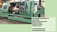 Experienced CNC Operators Needed- Apply Now!