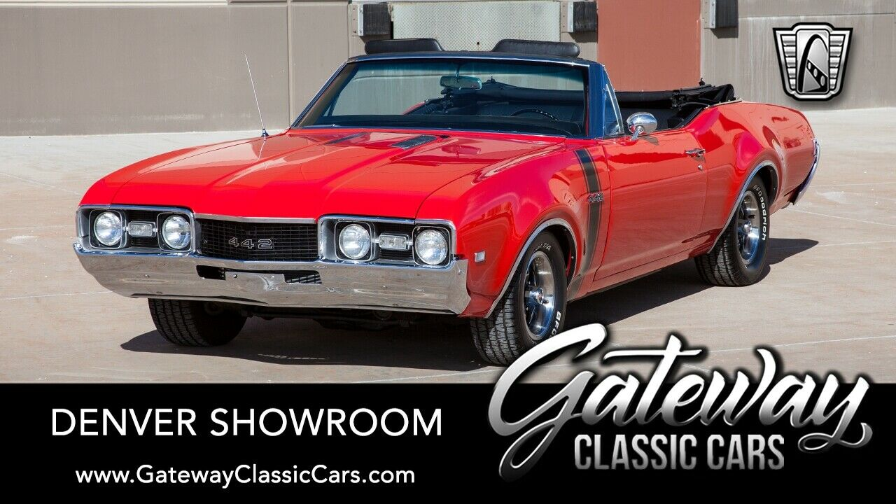 Red 1968 Oldsmobile 442  400 CID V8 Automatic Available Now!