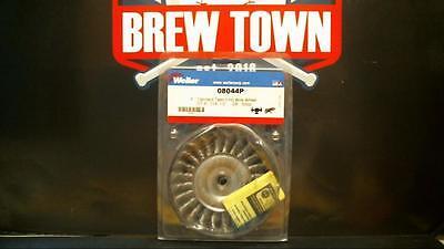 Weiler 4 Standard Twist Knot Wire Wheel 08044p Nib Y13