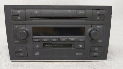 2004-2008 Audi A4 Am Fm Cd Player Radio Receiver 54493