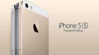 Apple iPhone 5S 16/32GB GSM Factory Unlocked Gray Gold Silver LTE Smartphone](iphone 5s 32gb unlocked new)