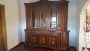 ITALIAN DISPLAY WALL CABINET FOR SALE Greystanes Parramatta Area Preview