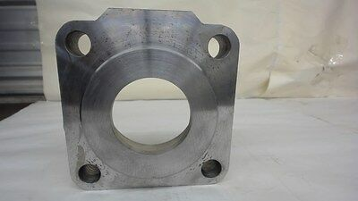 Cylinder End Block 6 Square X 1.60 Thick