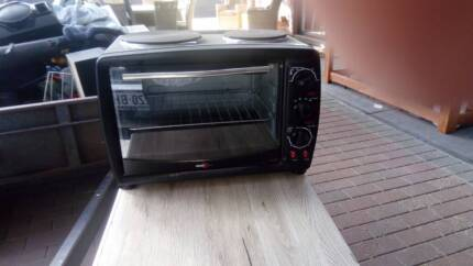 Portable oven cooktop