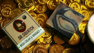 Dr. Squatch Irish Cream and Whiskey Bar Soap - LIMITED EDITION ST. PADDY'S DAY