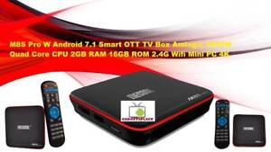 M8S Pro W Android 7.1 Smart OTT TV Box Amlogic S905W Quad Core Doveton Casey Area Preview