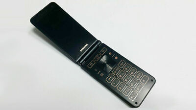 (*USED*) SAMSUNG GALAXY FOLDER 2 SM-G160N QUAD-CORE 16GB UNLOCKED PHONE (BLACK)