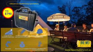 SALE! BWB 100ah 12v LiFePO4 Lithium Iron Deep Cycle Battery Slacks Creek Logan Area Preview