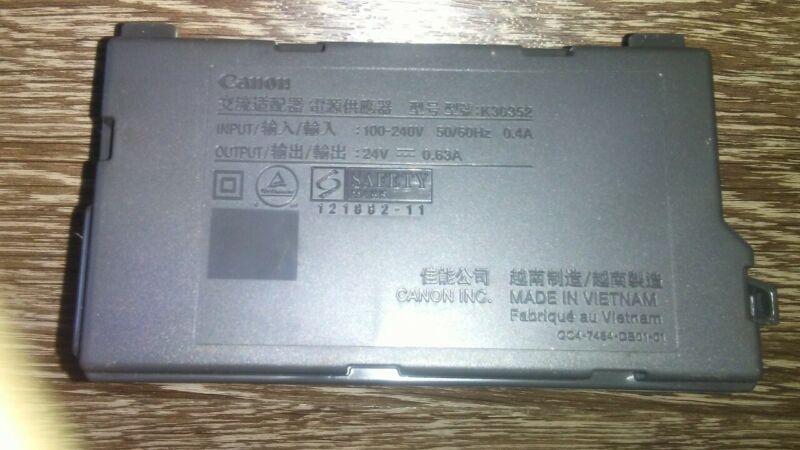 CANON K30352 POWER SUPPLY 24V 0.63A
