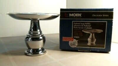 Moen Y4706CH Pedestal Soap Holder, FREE SHIPPING