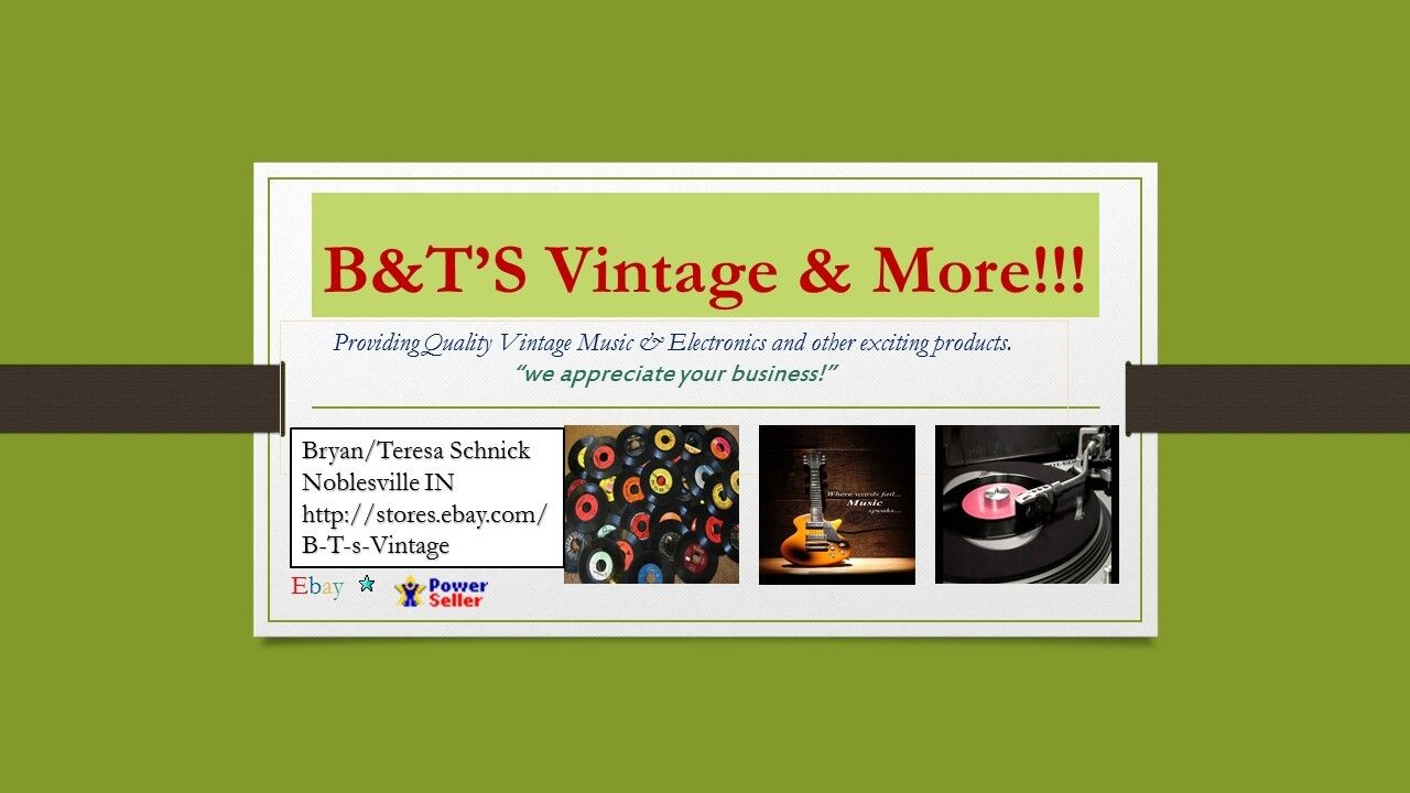 B&T's Vintage Electronics & More